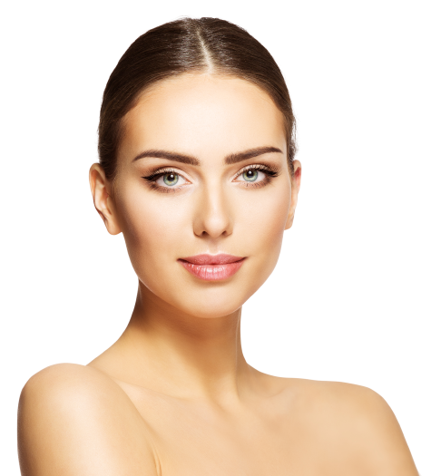 Woman Posing with Healthy Skin
