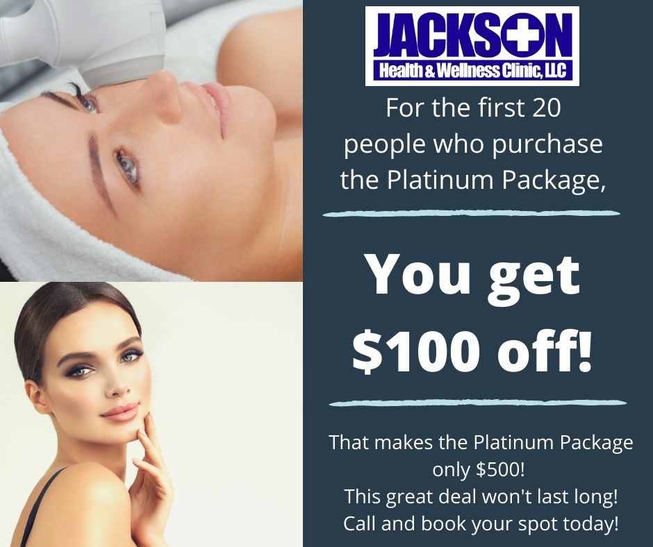 Platinum Packages receive $100 off!